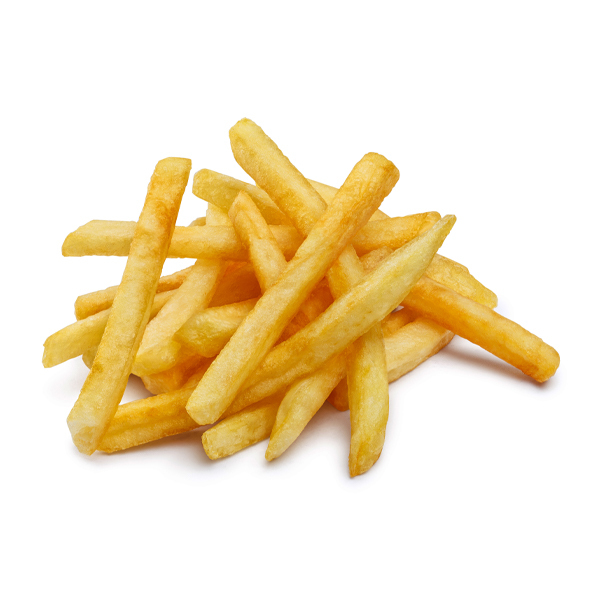 Fries in a pile
