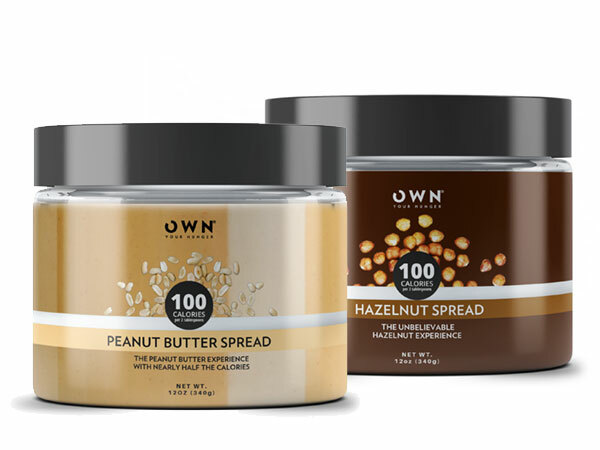 OWN nut butter spreads