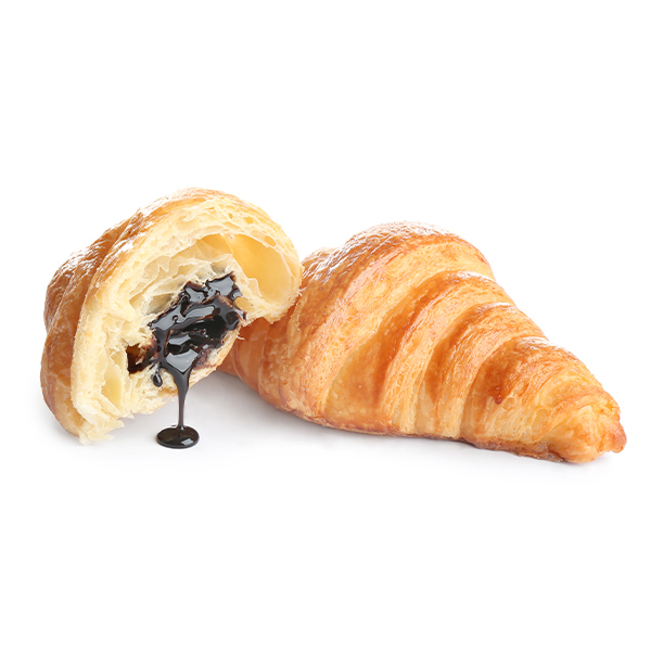 croissants with chocolate filling