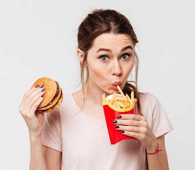 Header burger girl